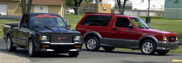 Image result for GMC: Syclone and Typhoon
